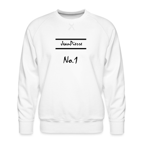 JeanPierreNo1 png - Männer Premium Pullover
