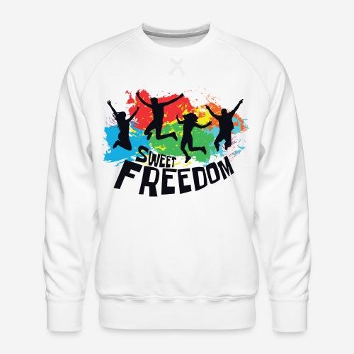 Freiheit frei - Männer Premium Pullover