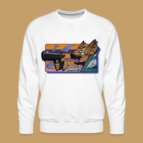 Gun Dog - bez napisu - Bluza męska Premium