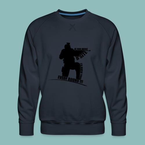 I'd rush you - Black Version - Männer Premium Pullover