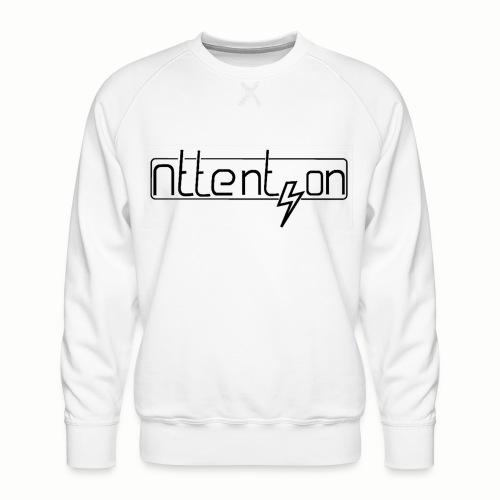 attention - Mannen premium sweater