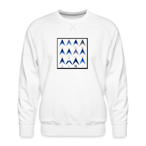Noordpijlen - Mannen premium sweater