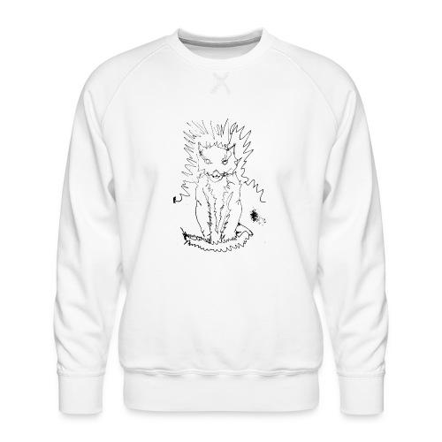 der graue Katzer - Männer Premium Pullover