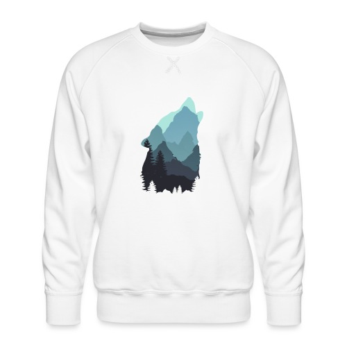 Wolf - Men's Premium Sweatshirt