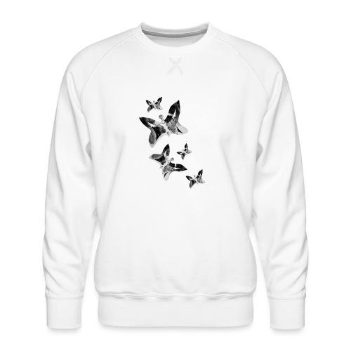 Schmetterlinge - Männer Premium Pullover