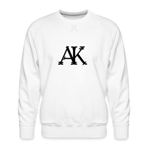 Brand logo - Mannen premium sweater