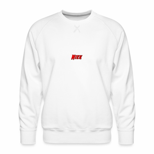Niek Red - Mannen premium sweater