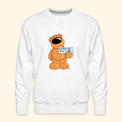 chris bears Keiner hat mich lieb - Männer Premium Pullover