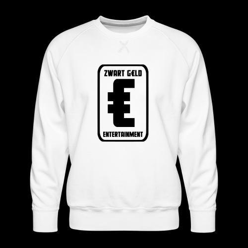 ZwartGeld Logo Sweater - Mannen premium sweater
