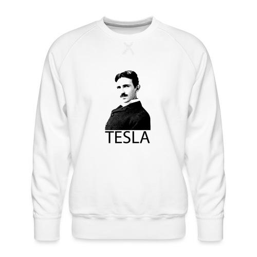 Tesla - Sweat ras-du-cou Premium Homme
