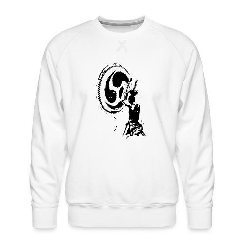 Odaiko Trommlerin - Männer Premium Pullover
