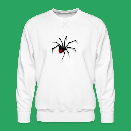 spider logo fantasy - Felpa premium da uomo