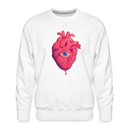 EYE HEART - Sudadera premium para hombre