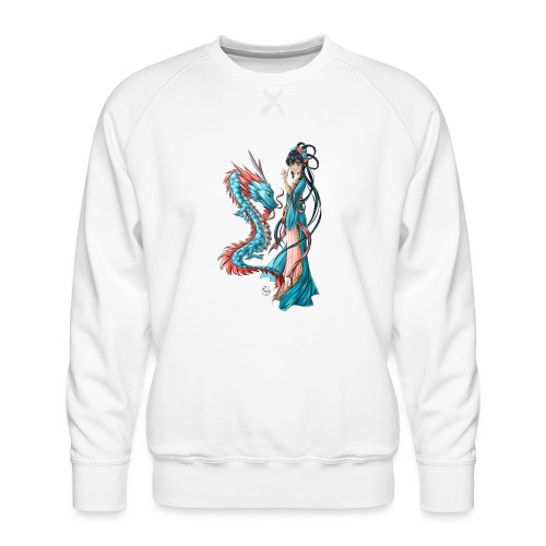 Blue Dragon - Sweat ras-du-cou Premium Homme