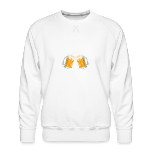 Bier Daarom Ben Ik Hier - Mannen premium sweater