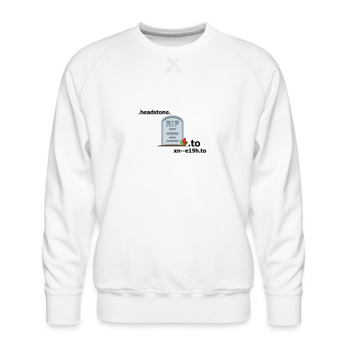 .to, xn--e19h.to, headstone - Männer Premium Pullover