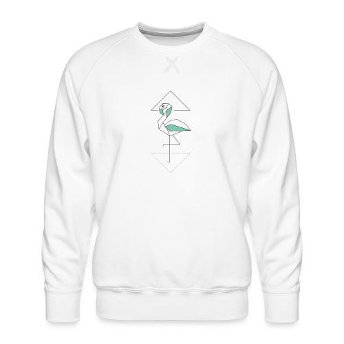 Kleiner Designer Flamingo - Männer Premium Pullover
