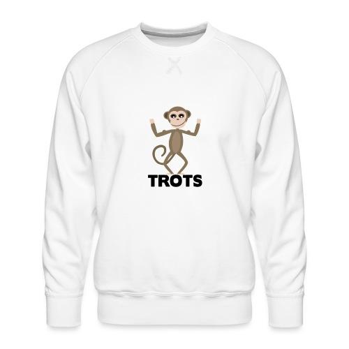 apetrots aapje wat trots is - Mannen premium sweater