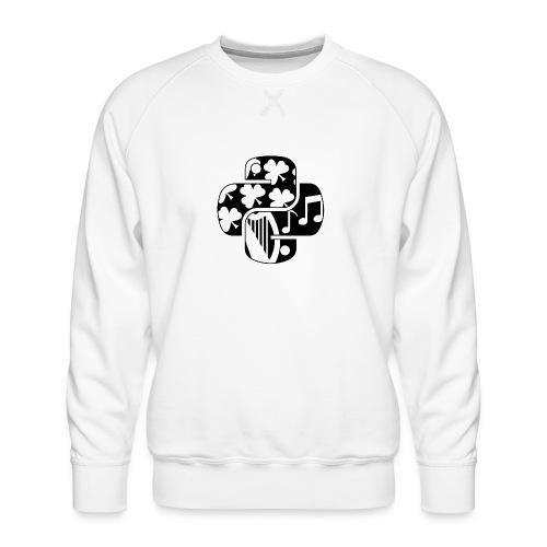 EuroPython 2020 - Black Snakes - Men's Premium Sweatshirt