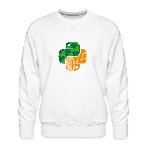 EuroPython 2020 - Color Snakes - Men's Premium Sweatshirt