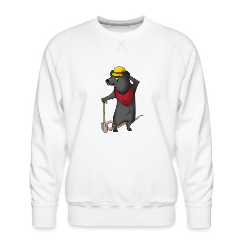 Arbeiter Ratte - Männer Premium Pullover
