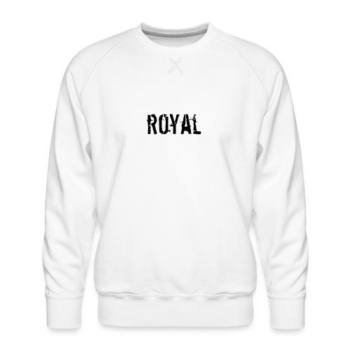 RoyalClothes - Mannen premium sweater