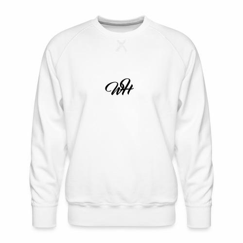 Basic logo - Herre premium sweatshirt