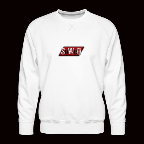 SoWeQ Navneskilt - Herre premium sweatshirt