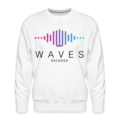 WAVES - Waves Records spettro sonoro - Felpa premium da uomo