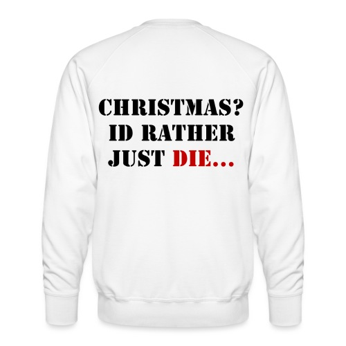 Christmas joy - Men's Premium Sweatshirt