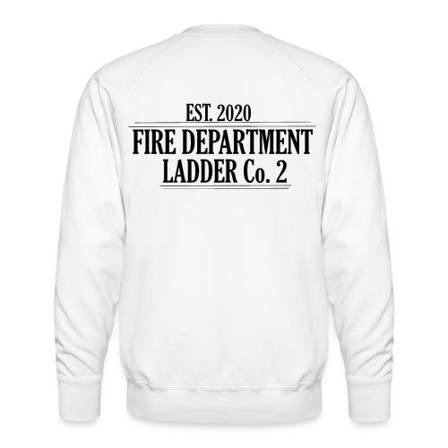 Fire Department - Ladder Co.2 - Herre premium sweatshirt