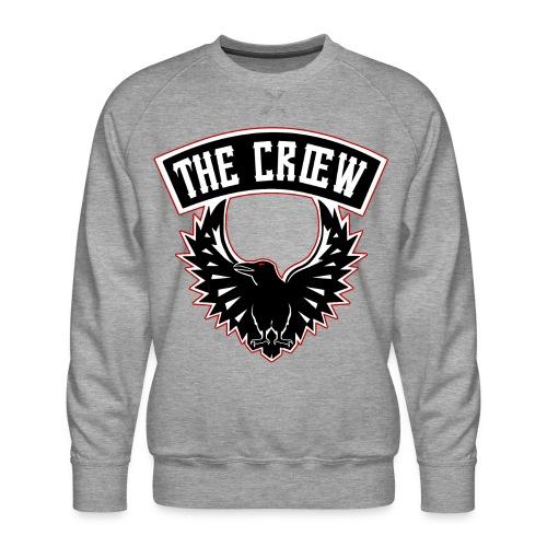 THE CRŒW SYL TEAM CROW - Sweat ras-du-cou Premium Homme