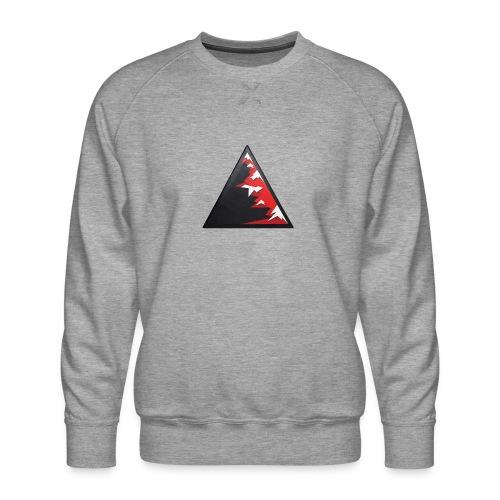 Climb high as a mountains to achieve high - Men's Premium Sweatshirt