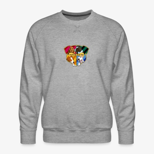 Dogwarts Logo - Men's Premium Sweatshirt