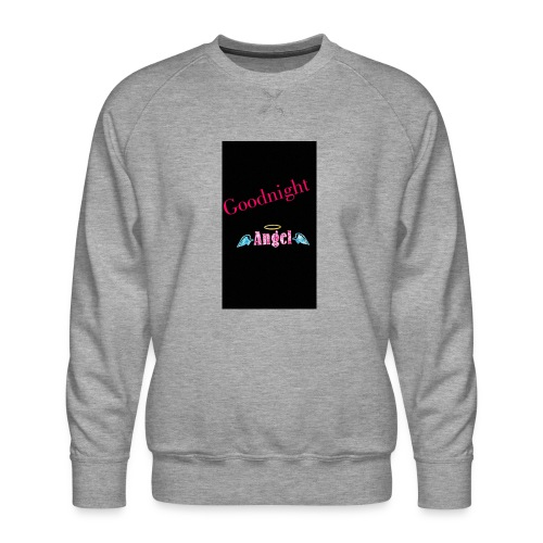 goodnight Angel Snapchat - Men's Premium Sweatshirt