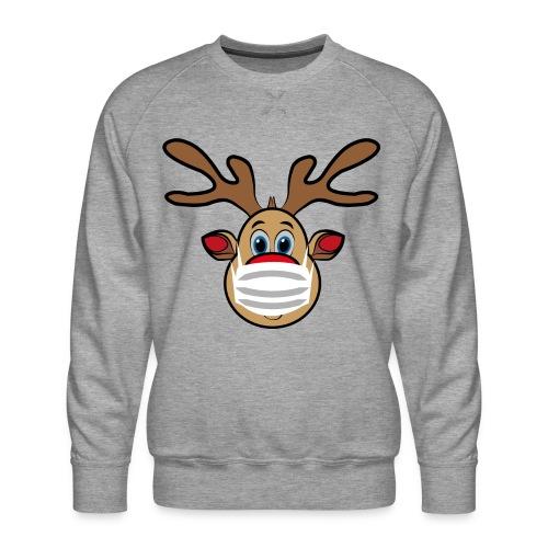 Ugly Xmas Rudi Reindeer mit Maske - Männer Premium Pullover