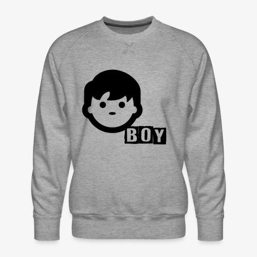 boy - Sweat ras-du-cou Premium Homme