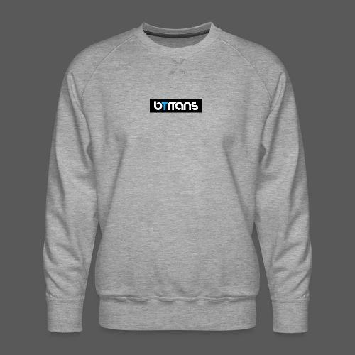 BTITANS Boxed Logo Print - Männer Premium Pullover