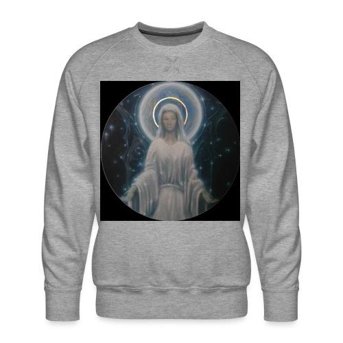 圣母玛利亚 Notre Dame by Jean Libon (Noir) - Sweat ras-du-cou Premium Homme
