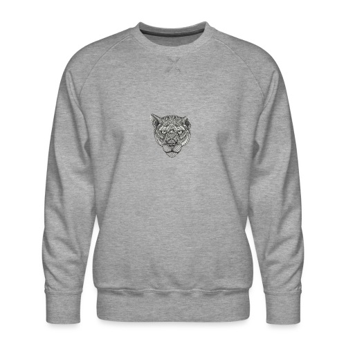 Lion - Mannen premium sweater