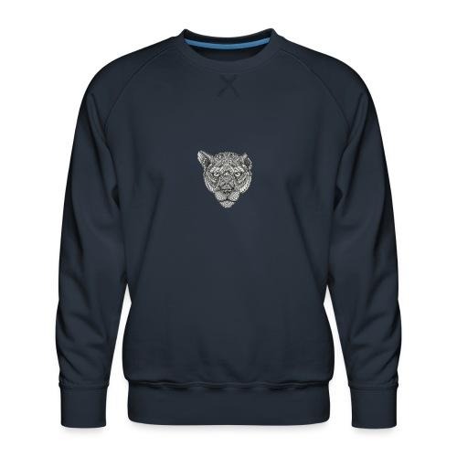 Lion - Mannen premium sweater