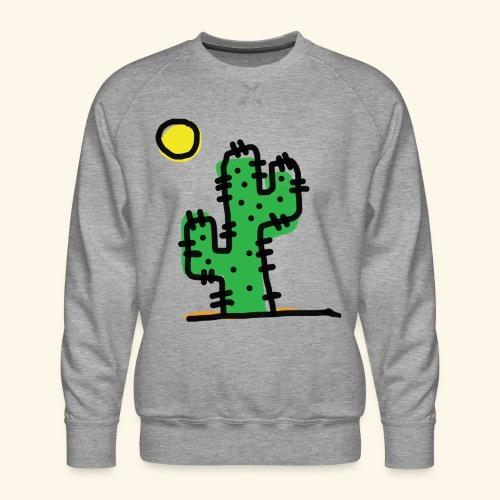 Cactus single - Felpa premium da uomo