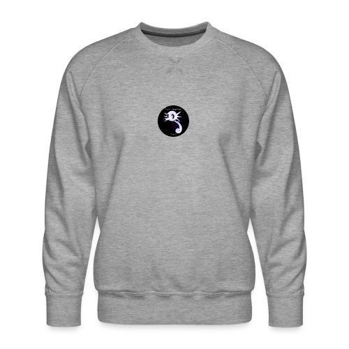 Yung Seepferd logo - Männer Premium Pullover