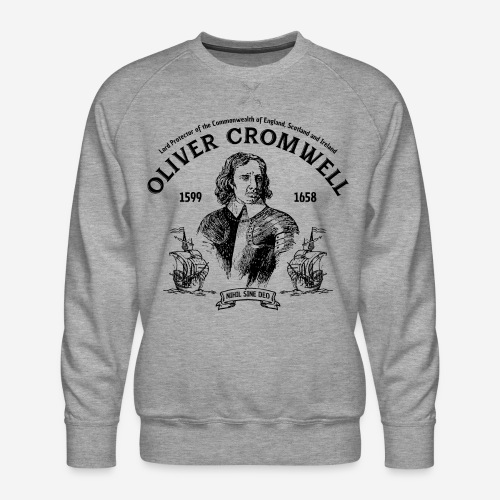 oliver cromwell commonwealth - Männer Premium Pullover