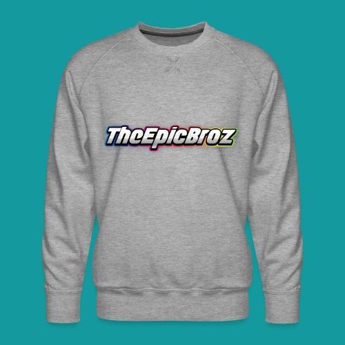 TheEpicBroz - Mannen premium sweater