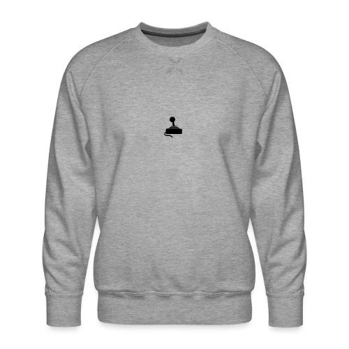GameoverlogoZWART - Mannen premium sweater