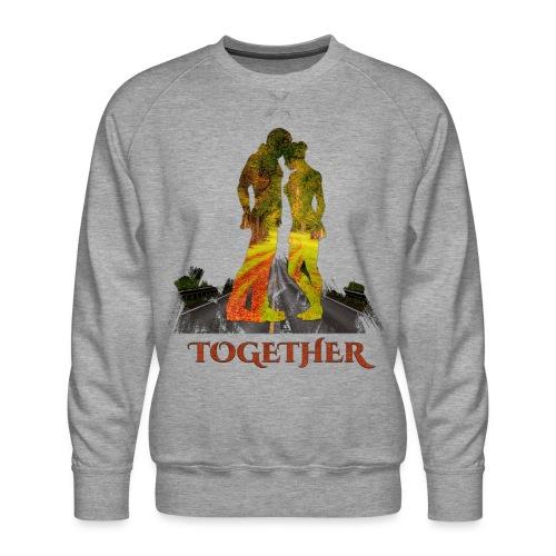 Together -by- T-shirt chic et choc - Sweat ras-du-cou Premium Homme