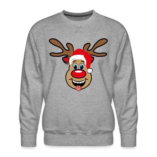 Team Rudolph Rudi Reindeer - Männer Premium Pullover