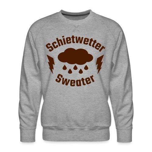 Schietwetter Sweater - Männer Premium Pullover