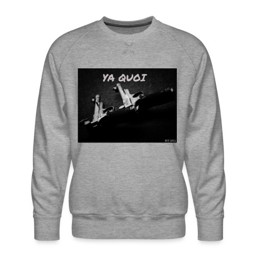 sweat-shirt HLT ya quoi - Sweat ras-du-cou Premium Homme